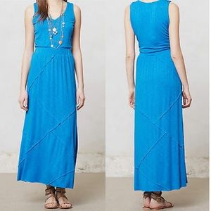 Anthropologie | Sapphire Day Maxi Dress